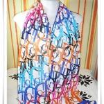 ผ้าพันคอ ผ้าคลุมไหล่ เนื้อซีฟอง Dior S013