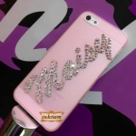 Case name made from crystal for iphone5s/4s, samsung galaxy S5/S4/Win รับทำเคสติดเพชรเป็นของขวัญเกิดสวยงาม ID: A218