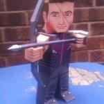 Hawkeye size A4