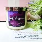 Bath & Body Works Slatkin & Co / Candle 4 oz. (Dark Kiss)