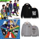 Preorder เสื้อกันหนาว SHINee 5TH FIVE