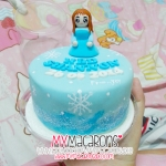 Cake frozen girl 4""