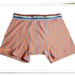 กางเกงในชาย เนื้อนุ่ม พอลสมิท ลายทางสีส้ม B012