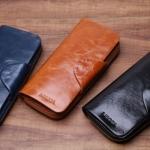 กระเป๋าสตางค์ ใบยาว ผู้หญิง แบบ ซิปรอบ กระเป๋าสตางค์หนังวัวแท้ ลง oil wax ยิ่งใช้ ยิ่งสวย หนังมัน ใส่โทรศัพท์ได้ สีน้ำเงิน ดำ น้ำตาล 763986