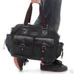 กระเป๋าผู้ชาย   กระเป๋าผ้าฝ้ายแฟชั่นชาย กระเป๋าสะพายข้าง-ถือ