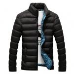 เสื้อคลุมผู้ชายแขนยาว เสื้อแจ็คเก็ตเท่ ๆ เสื้อกันหนาว แบบนวม ลายสวย สีพื้น เสื้อกันหนาว วัยรุ่น ใส่เที่ยวต่างประเทศ 404748