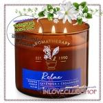 Bath & Body Works Slatkin & Co / Candle 14.5 oz. (Relax - Lavender & Cedarwood) *