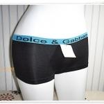 กางเกงในผู้หญิง เนื้อนุ่ม สีดำ DG
