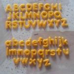 แม่พิม A-Z แม่พิมซิลิโคน Candy Big Set 52ชิ้น ขนาด1.8cm. และ1.3cm