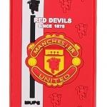 เคส iphone 4 ซิลิโคนอย่างดี ลายทีมฟุตบอล Manchester United