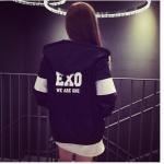 พร้อมส่ง เสื้อกันหนาว Exo มีซิป