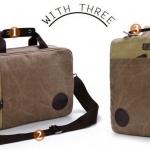 กระเป๋าเป้ กระเป๋าสะพายหลัง กระเป๋าใส่ notebook ผ้าแคนวาส เปิดปิด กว้าง แบบ กระเป๋าเดินทาง สายสะพายเก็บได้ สามารถถือ ได้ 2 แนว 495014