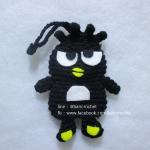 ครอบกุญแจถักแบดแบตมารุ keycover crochet