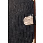 เคสโทรศัพท์ เคส Samsung Galaxy Note 2 N7100 เคสหนัง สีดำ กันฝุ่น กันน้ำ แบบเปิดปิด เรียบหรู มีสไตล์ แถมฟรี จุกปิดกันฝุ่น 934568