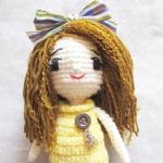ตุ๊กตาเด็กผู้หญิง,ตุ๊กตาเด็กผู้หญิงถัก,ตุ๊กตาถัก,ตุ๊กตาโครเชต์,ตุ๊กตาไหมพรม,ตุ๊กตาถักไหมพรม,ตุ๊กตาถักโครเชต์,ของขวัญ,ของชำร่วย