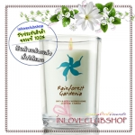 Bath & Body Works / Medium Candle 6 oz. (Rainforest Gardenia)