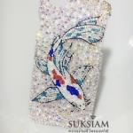 ของขวัญปีใหม่เสริมทรัพย์รับมงคลปี 2562 เคส iPhone 8 Plus case crystals ปลาคาร์พ
