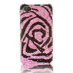 So sweetty หวานด้วยกุหลาบสีชมพู Case iPhone 4S, เคสไอโฟน 5 คริสตัล รุ่น Pink Rose ชมพูกลีบกุหลาบ