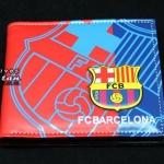 กระเป๋าสตางค์ ลายทีมฟุตบอล Barcelona บาร์ซ่า หนัง pu อย่างดี กันน้ำได้ ลาย 3 มิติ ตัวนูน สีแดงฟ้า สวยเท่ ของขวัญให้แฟน สุดหรู 87250_1