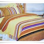 ชุดผ้าปูเตียง ผ้าปูที่นอน โทนสีน้ำตาล Cotton 6 ฟุต 5 ชิ้น B006