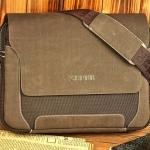 กระเป๋าสะพายข้าง กระเป๋าใส่ Notebook ผ้าแคนวาส ผสมหนังแท้ กระเป๋าใส่เอกสาร ลดราคา no 26764