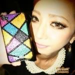 Bling Bling Case Iphone 5s/4s Samsung Galaxy S5 crystal เคสไอโฟนติดเพชรหรูเว่อร์ เพชรหลากสีแฟชั่นเคสมือถือ ID: A211
