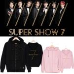 Preorder เสื้อฮู๊ดกันหนาว SUPER JUNIOR WORLD TOUR SUPER SHOW7