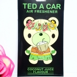 Ted A Car / Air Freshener (Coconut Juice)
