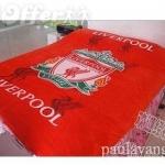 ผ้าห่มกำมะหยี่ เนื้อนุ่ม 5 ฟุต ลายทีม Liverpool