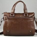กระเป๋าใส่ Notebook Polo หนังแท้ กระเป๋าสะพายข้าง ใส่เอกสาร นิตรสารเล่มใหญ่ กระเป๋าถือใส่เอกสาร สำหรับผู้บริหาร สีน้ำตาลอ่อน no 996987_2