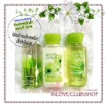 Bath & Body Works / Travel Size Body Care Bundle (White Citrus)