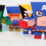 super hero 5 ตัว
