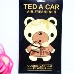 Ted A Car / Air Freshener (Cookie Vanilla)