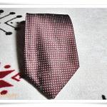 เนคไท ผู้ชาย Chanel สีเลือดหมู N024