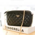 La Festin shoulder bag : รุ่น Alive กระเป๋าสะพายแฟชั่นแบบเกาหลีน่ารัก กระเป๋าหนังขนาดเล็กกระทัดรัด พกพาสะดวก ID: B006
