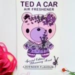 Ted A Car / Air Freshener (Lavender)