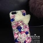 สวยที่สุดอลังการเคส ไอโฟน 6s iPhone 6s plus case handmade เพชรอลังการคริสตัล ID: A301