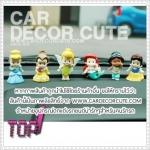 คละแบบ - ตุ๊กตาเซ็ตดิสนีย์ Baby Doll Princess 6 ชิ้น วางตกแต่งหน้ารถยนต์