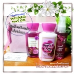 Bath & Body Works / Travel Size Body Care Bundle (Sweet Cranberry Rose) *แนะนำ