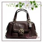 COACH / CAMPBELL LEATHER SATCHEL (COLOR : B4/MA) *ของแท้ USA 100%