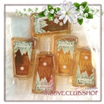 Bath & Body Works / PocketBac Sanitizing Hand Gel 29 ml. Pack 5 ขวด (Mahogany Teakwood)