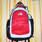 กระเป๋าเป้ กระเป๋าเดินทาง กระเป๋าโน๊ตบุ๊ค North face สีแดง