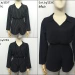 ชุดเซ็ท 2 ชิ้น(เสื้อ+กางเกง/กระโปรง)