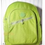 กระเป๋า notebook สะพายหลัง สีเขียว KP008