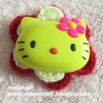 ไหมพรมhello kitty ใหญ่ กว้าง8 ซม. #044-003