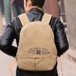 กระเป๋าเป้ กระเป๋าสะพายหลัง ผ้าแคนวาส กระเป๋า Backpack เก๋ ๆ กับข้อความดี ๆ Taste Success ของขวัญ สุดเท่ เป้ เก๋ ๆ 842694