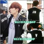 พร้อมส่ง เสื้อเบสบอล BTS ระบุเมมเบอร์ [ver Korean]