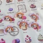 หัวตุ๊กตาใส่หมวก Sugarbunny สีม่วง