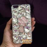 case iphone 6s plus iPhone 5s crystal ประดับคริสตัลเพชรหรูหราเรืองรองเจิดจรัส ID: A303