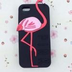เคส iphone 6 ขนาด 4.7 นิ้ว เคส วิคตอเรีย ซีเคร็ท Pink สีดำ ดูแลง่าย ลาย นกฟลามิงโก้ เคสลาย แปลก หายาก 763134_1